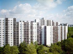Fotoserie über die Gropiusstadt und ihre Bewohner von Lukas Fischer;