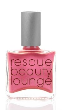 Rescue Beauty Lounge BONNE JOURNEE.  Once upon a time I had a bottle of Maybelline Forever Strong + Iron in color Petal Power.  It had an amazing finish and is one of the few polishes I've ever owned that I used to the very last drop.  This is the closest I've ever seen since that beloved bottle died.  Bought during RBL's final closing sale.