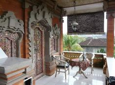 Kori Bali Inn is where we are staying now. Basic budget accomodation right in the heart of #Ubud