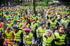Organise a bicycle bell concert