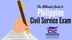 In this definitive guide for Filipinos, you'll learn everything you need to know to take and successfully pass the civil service exam. Civil Service Reviewer, Exam Guide, Filipino, Civilization, Infographic, Learning, Info Graphics, Studying, Teaching