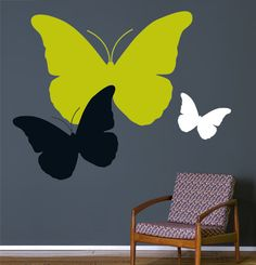Wall designs animal... I wonder if I could do this with posters so it's changeable...