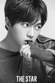 Infinite L (Kim Myungsoo) The Star Magazine November 2016 Issue