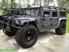 Hummer H1 bugout vehicle
