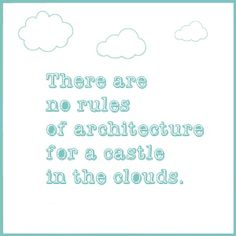 Quote no rules of architecture