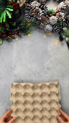 Diy Crafts For Home Decor, Diy Christmas Decorations Easy, Diy Crafts Hacks, Diy Crafts For Gifts, Diy Arts And Crafts, Cute Crafts, Diy Crafts Videos, Creative Crafts, Christmas Crafts