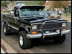 I so whant this truck! Old Jeep, Jeep 4x4, Jeep Pickup, Jeep Truck, Pickup Trucks, Jeep Wagoneer, Cool Jeeps, Cool Trucks, Jeep Life