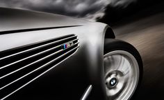 car photography - BMW with car rig, Tim Wallace