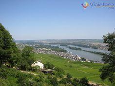 Rüdesheim, uma das pérolas do Vale do Rio Reno, na Alemanha