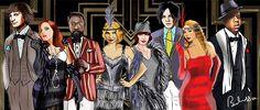 In true Luhrmann fashion, a star-studded score accompanies The Great Gatsby.