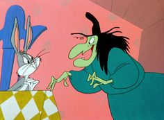 Witch Hazel and Bugs -- Bewitched Bunny, Broom-Stick Bunny and a few others were hilarious!