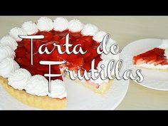 Tarta de Frutilla y Gelatina - Recetas de postres (y panes) Birthday Candles, Birthday Cake, Canapes, Flan, Doughnuts, Yummy Cakes, Cheesecake, Food And Drink, Cupcakes
