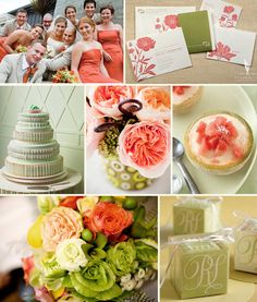 Wedding Colors coral and mint | Coral for a November Wedding? Please Help Me!!!!!