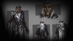 Concept art for Mannimarco in The Elder Scrolls Online