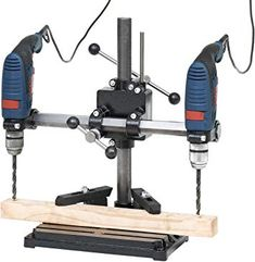 Drill Press Table, Drill Guide, Drilling Machine, Cool Inventions, Construction, Milling, Outdoor Power Equipment, Workshop, Woodworking