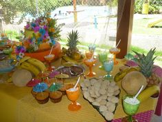 Tropical Party Themed (That was my cousin 15th birthday in Venezuela)