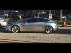 Watch the Tesla Model 3 Out on the Streets of California