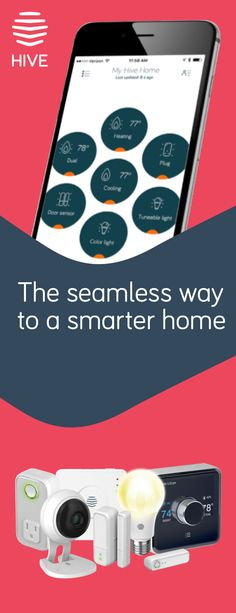 Love your home more with a Hive smart home plan. Turn up the heat or AC on the way back from the office. See what�s going on from virtually anywhere. Hive products are designed to work together, and the Hive app gives you a simple way to manage your entire smart home.