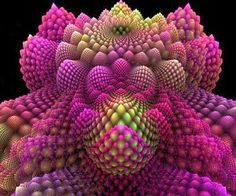 Romanesco broccoli:  #fractal geometry and the #fibonacci sequence as seen in nature