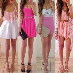 Love love, 4 perfect outfits!