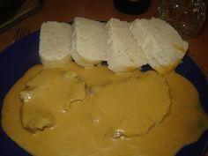 sviečková na smotane - tradičná slovenská kuchyňa - YouTube Recipies, Dairy, Food And Drink, Menu, Cheese, Youtube, Cooking, Recipes, Menu Board Design