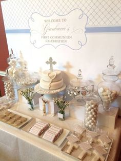 Baptism Decoration Ideas For Boy