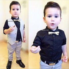 Niño elegante