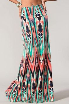 maxi skirt by mollie