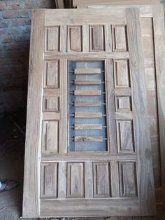 Wooden Main Door Design, Front Door Design, Room Doors, Entry Doors, Wooden Living Room Furniture, Pooja Room Door Design, Pooja Rooms, Exterior Doors, Wooden Doors