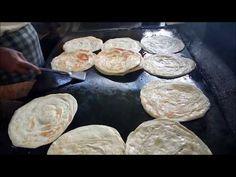 How To Make Layered Soft Parotta / Kerala Paratta / Village Food Greek Recipes, Indian Food Recipes, Asian Recipes, Crepes, Middle Eastern Sweets, Asian Street Food, Homemade Dinner Rolls, Kerala Food, C'est Bon