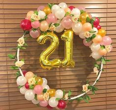 Quinceanera Party Planning – 5 Secrets For Having The Best Mexican Birthday Party Simple Birthday Decorations, 21st Birthday Decorations, 21st Party, 2nd Birthday Parties, Balloon Garland, Balloon Decorations, Baby Shower Balloons, 21 Balloons, Disney Birthday