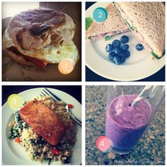 Four Things I Ate  www.healthybecauseican.com
