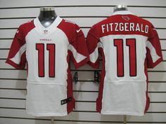 top-selling #11 Fitzgerald White Colors Nike Arizona Cardinals Mens Elite NFL Jersey with reasonanble pri cheap authentic jerseys shop from ... Price:$24 Size40(M)44(L)48(XL)52(XXL)56(XXXL)