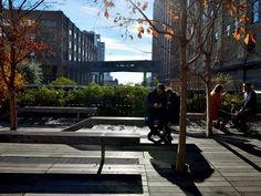 One of the High Line's most beloved features, the 10th Avenue Square, is still a popular place to soak up the sun, relax, or share a bite to...