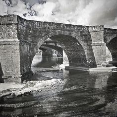 Tres #puentes. Río Esla. A-6. #Benavente
