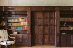 The library at Balcombe Place