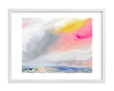 """""""Sundown"""" - Art Print by Lindsay Megahed in beautiful frame options and a variety of sizes."""