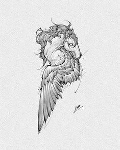 Tattoo Sketches, Drawing Sketches, Drawings, Black Diamond Tattoos, Henna Designs, Tattoo Designs, Chef Tattoo, Mythology Tattoos, Weird Tattoos