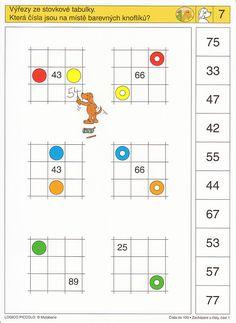 LOGICO PICCOLO | Čísla do 100, část 1 | Didaktické pomůcky a hračky - AMOSEK