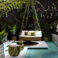 Como escolher móveis para decoração de áreas externas - Jardim de Siguta