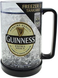 Guinness Advert, Irish Beer, Home Brewing Beer, Novelty Gifts, Freezer, Pure Products, Mugs, Drinks, Tableware