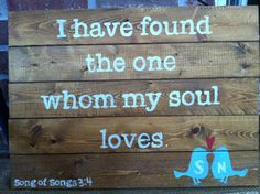 Wooden Sign Pallet art I have found the one by SaltAndLightDesigns, $42.00