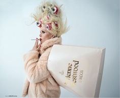 The amazing joanna lumley as patsy shot by the absolutely fabulous tim walker