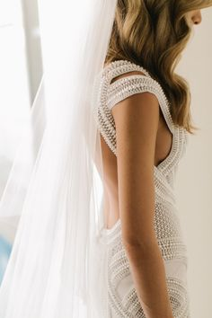 Nadia Bartel Wedding Dress: J'Aton Couture // Pinned by andathousandwords.com