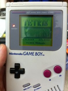 I will never forget playing Tetris on the original Game Boy. :)