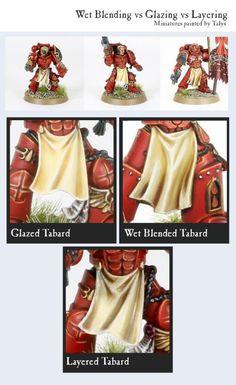 A Tale of 3 Tabards: Layer vs Glaze vs Wet Blend - Forum - DakkaDakka | We've got a Strategy Rating of 4.