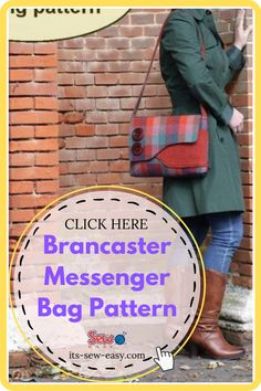 The Brancaster messenger bag traces its roots to the 1940s. Heavily inspired by fishermen bags, this little package of convenience has grown to become a fashion statement that is highlighted by its asymmetrical flap and an easily accessible front pocket. Brancaster messenger bags are popular for their practicality and convenient size, which is perfect for the everyday woman looking for a stylish bag to stash toiletries. #messengerbagpattern#sewingpattern#bagpattern#sewingbagpatterns Messenger Bag Patterns, Bag Patterns To Sew, Messenger Bags, Creative Outlet, Kids Bags, Looking For Women, 1940s, Roots, Popular