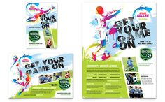 Youth Soccer Flyer and Ad Design Template by StockLayouts