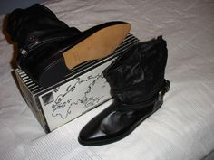 Black Leather Boots is listed For Sale on Austree - Free Classifieds Ads from all around Australia - http://www.austree.com.au/clothing-jewellery/women-s-shoes/black-leather-boots_i2945