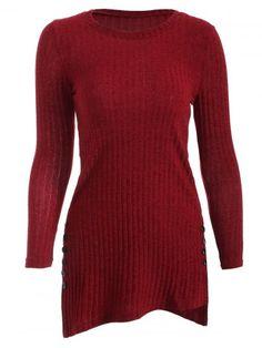 GET $50 NOW   Join RoseGal: Get YOUR $50 NOW!http://www.rosegal.com/sweaters/side-slit-longline-knitwear-873611.html?seid=948764rg873611